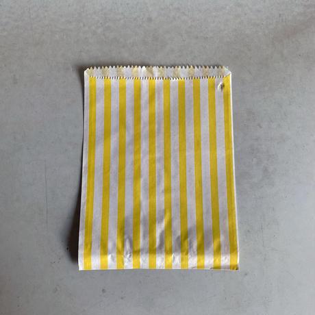 Yellow Candy Stripe Bag ( M ) 10枚セット