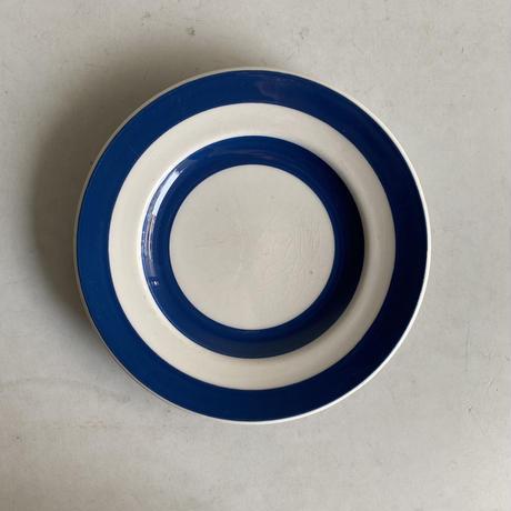 Blue x White Plate( E )