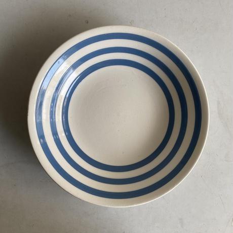 Blue x White Plate( D )