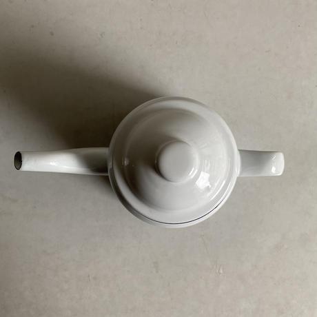 FALCON / Tea Pot <White / Black >