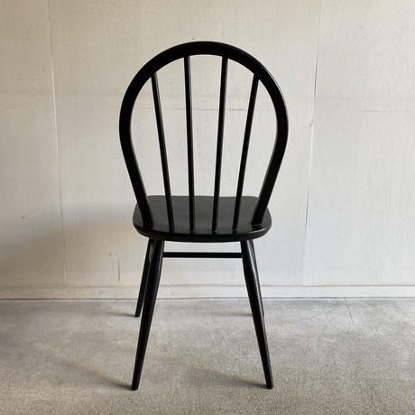 Ercol Black Hoop Back Chair