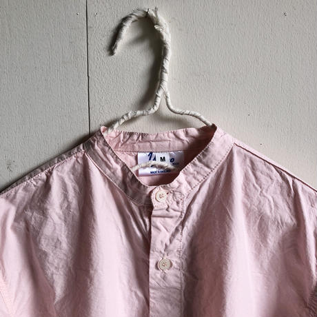 Yarmo  Band Collar Shirts(Pink)