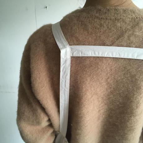 Shetland Woollen Co.  Shaggy dog sweater( Cashew-M/L )