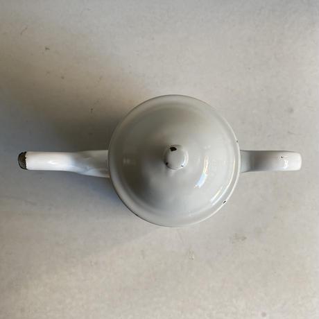 Enamel Tea Pot( White )