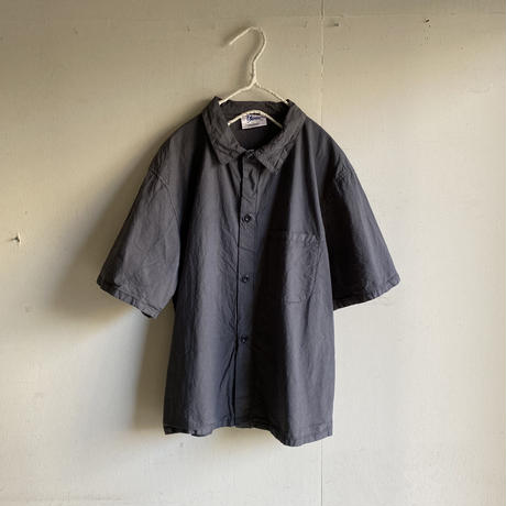Yarmo  Short Sleeve Pajama Shirt(Charcoal)