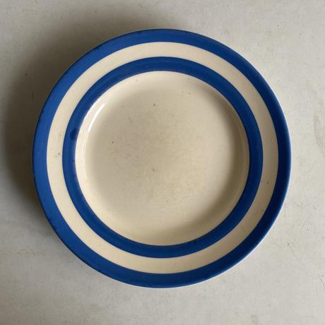 Blue x White Plate( F )