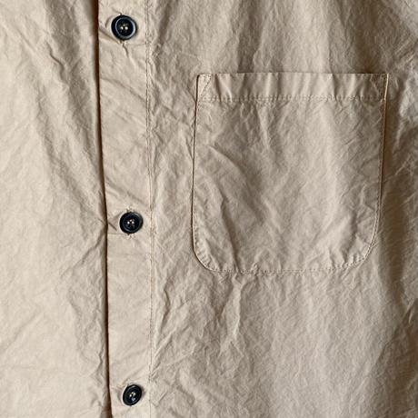 Yarmo  Short Sleeve Pajama Shirt(Beige)