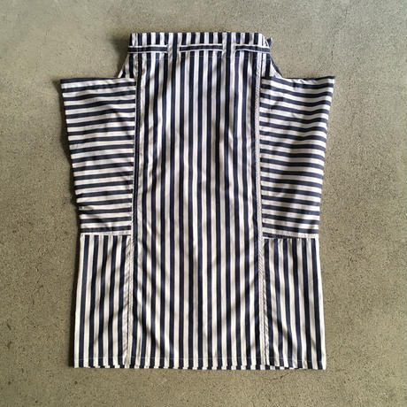 Yarmo  Side Pocket Apron Candy Stripe(Navy)