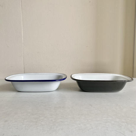 FALCON / Pie Dish <White / Black>