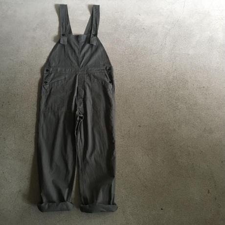 Yarmo  Bib and Brace Overall Cotton Twill(Iron)