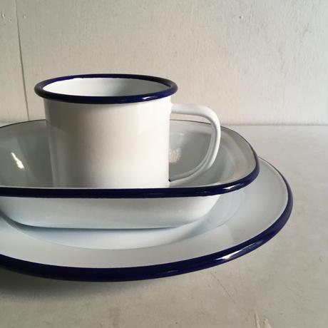 FALCON / Plate <White / Black>