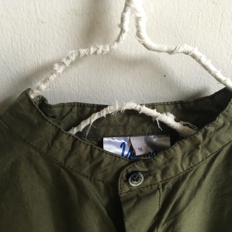 Yarmo  Band Collar Shirts(Olive)