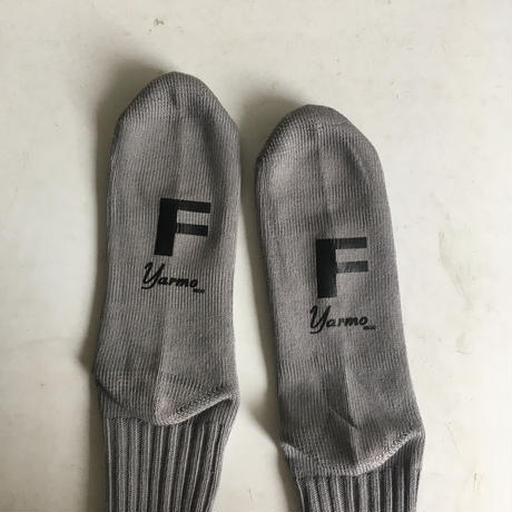 Yarmo Loose Top Rib Socks (Grey)