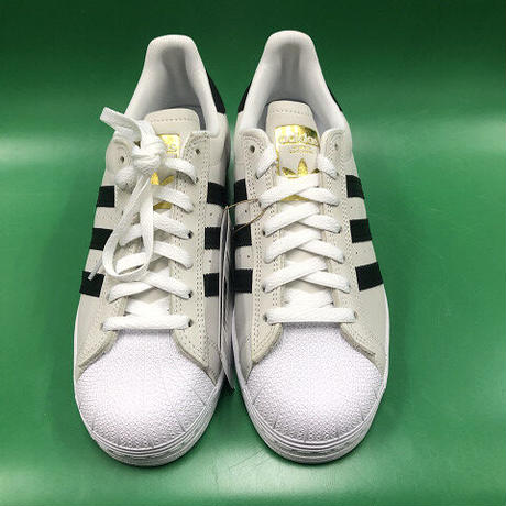 "ADIDAS / ""Superstar ADV"" White / Black 8inch (26cm)"