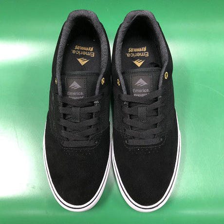 "Emerica / ""Reynolds Low Vulc"" Black / Gold / White 9inch (27cm)"