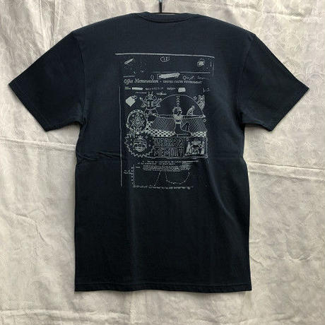 "Theories / ""Screen Memory T-Shirt"" Navy / L"