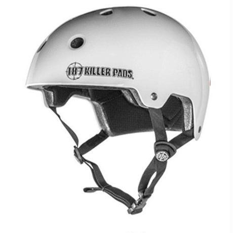 187 Helmet / Gloss White / S, M
