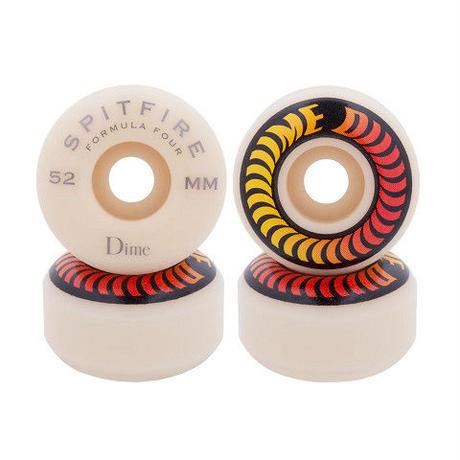 "Spitfire x Dime / ""Classic Shape"" 99A F4 52mm"