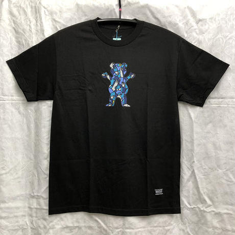 "Grizzly x Lucas Beaufort / ""Beaufort Crowd T-Shirt"" Black / L"