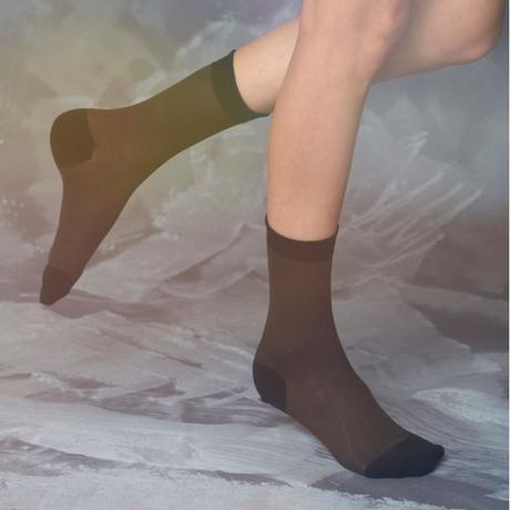 silk mesh socks