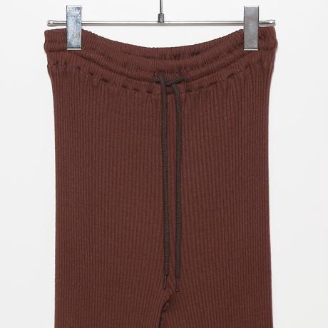 cotton ribbed pants