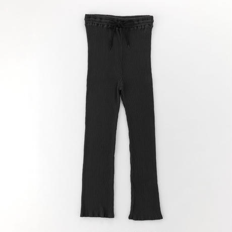 cotton ribbed pants