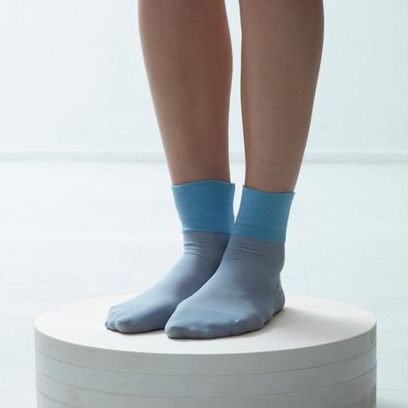 voile cotton plain socks