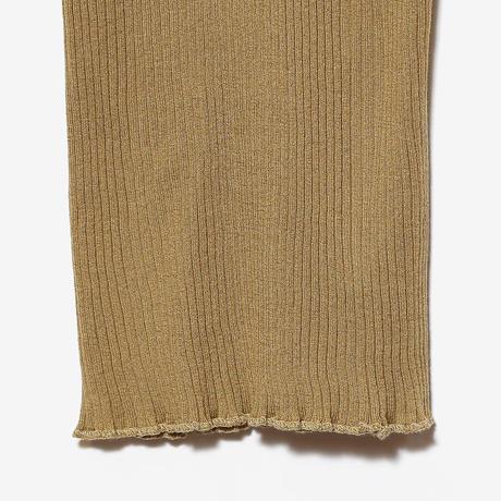 fine cotton ribbed camisole