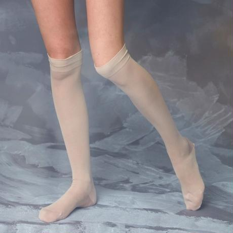 voile cotton back line stocking