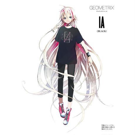 【GEOMETRIX】IA GEOMETRIX Tシャツ/ブラック