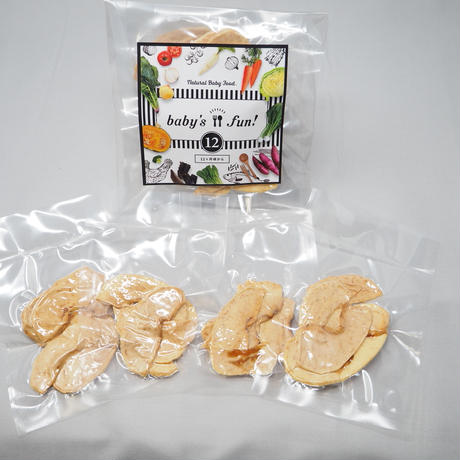 【12ヶ月頃から】「りんごチップス」10g入×4袋