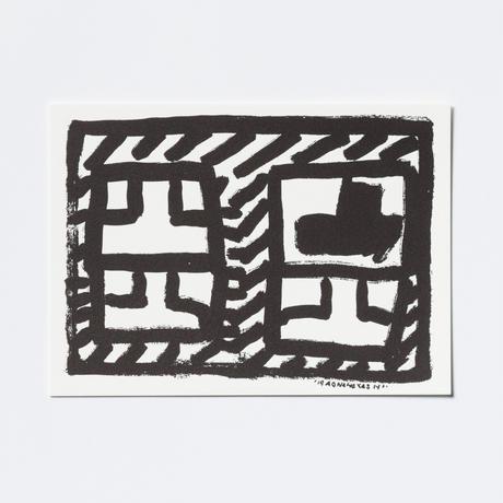林青那 活版印刷    POSTCARD