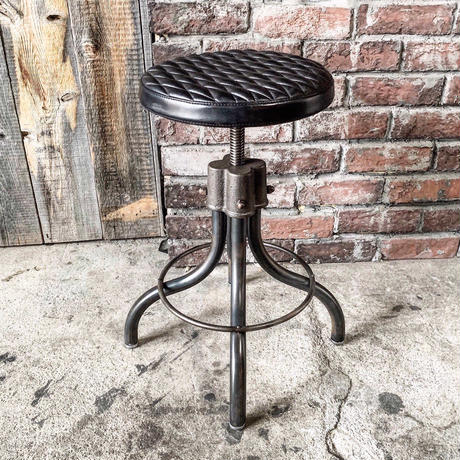 BACKDROP × BLACKSMITH   IRON STOOL