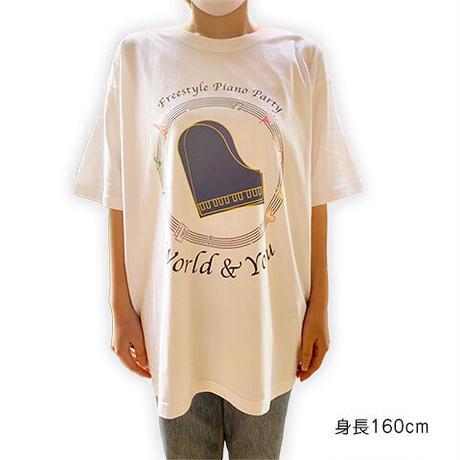 ビッグシルエットTシャツ ホワイト