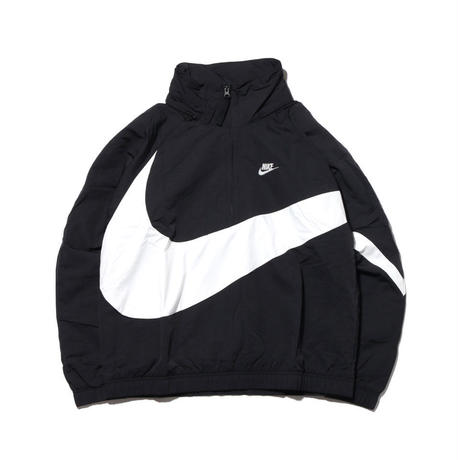 """18SS"" NIKE ナイキ 90's  BIG SWOOSH ANRK JACKET  -Black/White- AJ-1405"