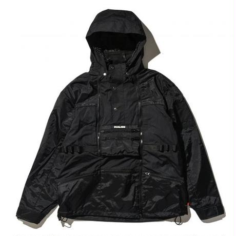 """19SS"" DLSM ディーエルエスエム DUALSIM TRANSFORMAERS ZIP JACKET -Black-"
