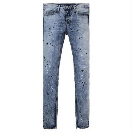 mnml / ミニマル  M69 Denim Pants ダメージデニム  -Blue-