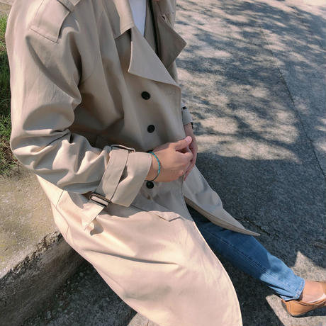 Sungchan Trench Coat 【セット割有り🖤】