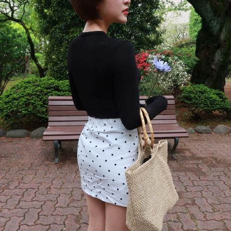 Dot Mini Skirt