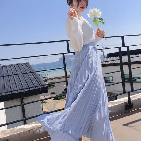 Like an angel Skirt【Sky Blue】