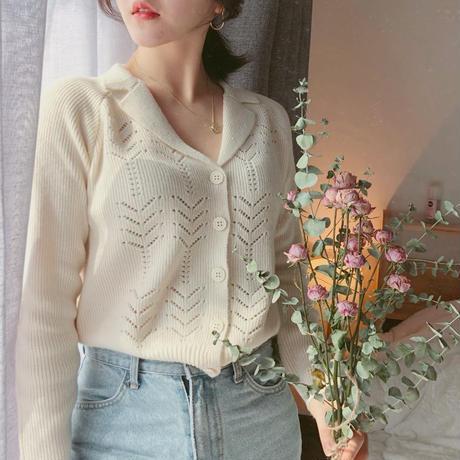 vintage 風knit 【2 color】