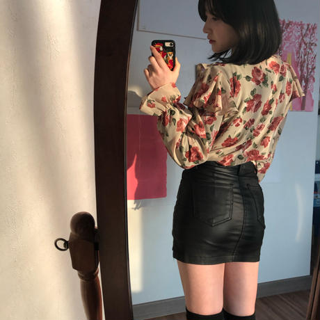 【春の新作】Flower scent blouse