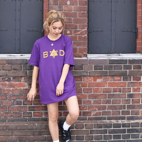 EYE LOGO BIG TEE - Purple