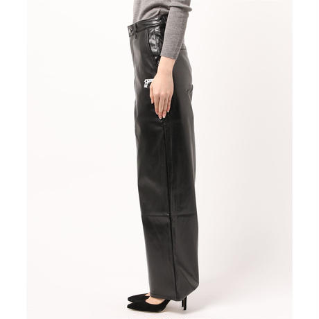 9MM LEATHER PANT