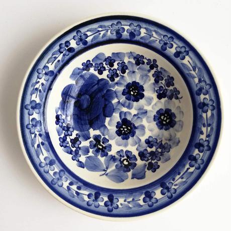 ヴウォツワヴェク陶器 小皿(直径15cm)#3521