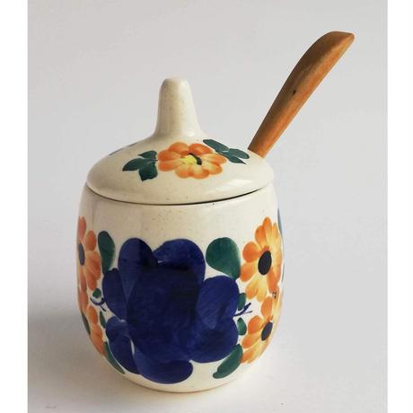 ヴウォツワヴェク陶器 シュガーポット #3514
