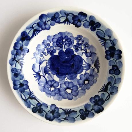 ヴウォツワヴェク陶器 小皿(直径15cm)#3182