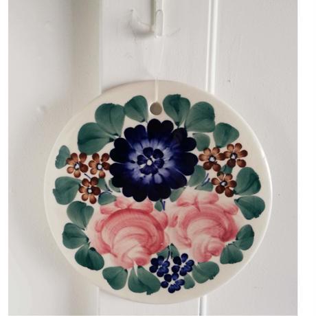 ヴウォツワヴェク陶器 陶板 #3430
