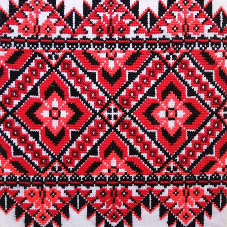 ウクライナ刺繍布 08