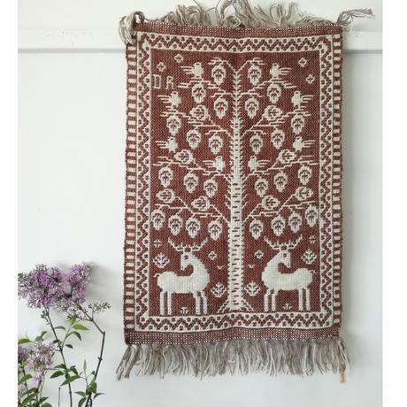 ヤノフ村の織物 タペストリー 生命の木(42×60cm)#2344